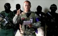 Nicolas Maduro denounces 'terrorism' as manhunt continues for helicopter pilot who fired on Supreme Court