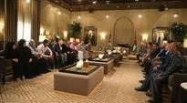 King meets families of Jordan Armed Forces and security agencies' martyrs