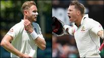 Ashes 2017-18: England pacer Stuart Broad sees David Warner as danger man