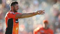 Perth Scorchers 144/1 * v Sydney Sixers 141/9