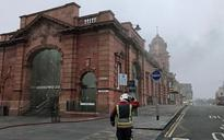 Nottingham station fire: East Midlands Trains cancelled as crews tackle major blaze that started in toilet block