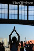 Yoga at the old Park Station
