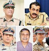 Sidelined, top cops wait for achhe din