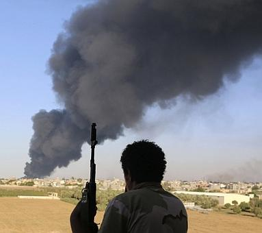 Why is Libya so lawless today?