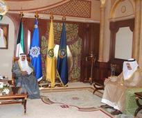 His Highness the Crown Prince receives new Kuwaiti Ambassador to China