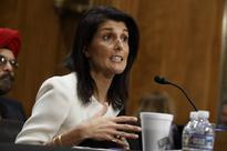 Trump U.N. pick Haley backs moving U.S. Embassy to Jerusalem as Obama sees two-state bid waning