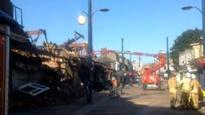 Great Yarmouth fire: Demolition under way