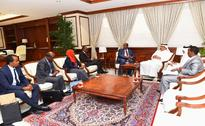 Minister of Municipality, Environment Meets Djibouti Minister of Habitat