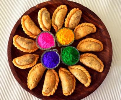 Holi recipes: Mawa Apple Gujiya, Rajasthani Korma and more