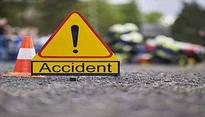 Four foreigners injured in road accident
