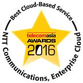 NIPPON TELEGRAPH AND TELEPHONE : NTT Communications Wins Best Cloud-Based Service for 4th Consecutive Year at Telecom Asia Awards 2016