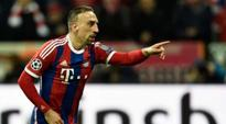 Ribery is Bayern's only absentee for Gladbach clash