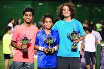 Joud Al Azmeh wins Qatar Tennis Federation Ope...   Players from  the Bay Club Tennis School of  InterContin...
