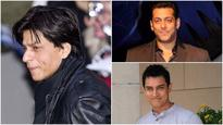 Has Shah Rukh lost his footing while Salman and Aamir continue to race ahead?
