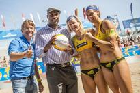 Olympic gold medalists advance to quarter finals at Swatch Beach Volleyball FIVB World Tour Finals