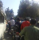 Nowshera faces frequent traffic jam