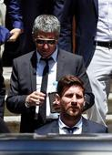 Soccer Jail time looms for Lionel Messi's dad