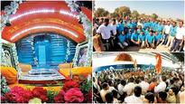 Trust helps 1.500 Sai Baba devotees steam ahead from Shirdi to Tirupati