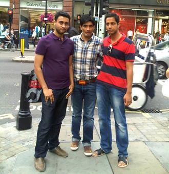 Spotted: Manish Malhotra in London