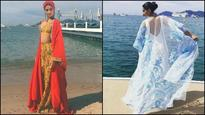 Cannes 2017: Sonam Kapoor switches between glamazon and chic look for her Day 2 at French Riviera!