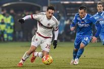 AC Milan Unable to Exert Control...