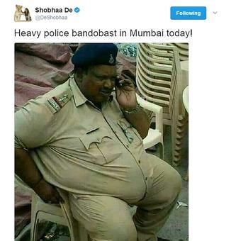 MP cop trolled by Shobhaa De feels 'hurt'