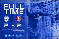 FT: Cardiff 2-2 Rotherham