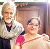 Mamata Shankar on her comeback: I was nervous shooting with Mr Bachchan