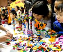LEGO Master Model Builder Competition held in Shanghai