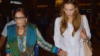 Accepted in Khandaan? Iulia Vantur spotted with Salman Khan and his mum Salma