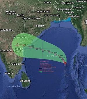 Alert! Cyclone Vardah to slam into Andhra coast on Dec 12