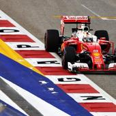 Singapore GP: Late response from Ferrari pushes Vettel to the back of the grid