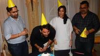 When Barun Sobti got surprise visitors just before his birthday!