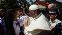 Pope meets victims of child sexual abuse in Chile 'cries with them'