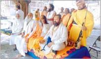 Narendra Giri is terrorising Sadhus with arms: Radhe Radhe Baba