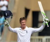 India pull back England after Jennings ton on debut