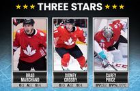 Sidney Crosby line combines for 6 points; Canada wins Game 1
