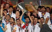 Sevilla wins 3rd Europa title in row