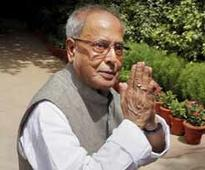 Sad, anxious about Parliament disruptions, says President Pranab Mukherjee