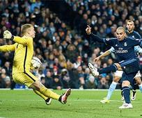 Manchester City hold Madrid to stay in ... Manchester City hold Madrid to stay in hunt