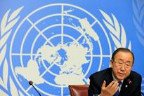 U.N. chief pushes for rare General Assembly session on Syria