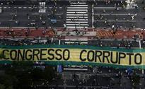 Brazilians Take To Streets Against Corruption