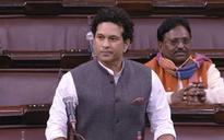 No Sachin Rajya Sabha speech as Congress creates ruckus over PM's Pak remark