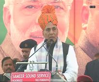 Rahul can't even make the wind blow and he talks about an earthquake: Rajnath Singh