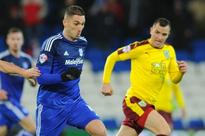 Former Manchester United striker Federico Macheda bidding for a contract at Watford