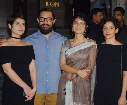PIX: Sunny, Ranbir, Sonakshi watch Dangal