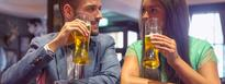 Female drinking habits keeping pace with those of men.