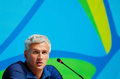 I'm sorry. I over-exaggerated what was happening to me: Lochte