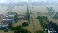 Water levels high in rivers and canals in southern China