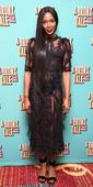 Naomi Campbell stuns in sheer black dress at The Bronx Tale opening night on Broadway